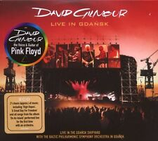 "DAVID GILMOUR ""LIVE IN GDANSK"" 2 CD NEW+"