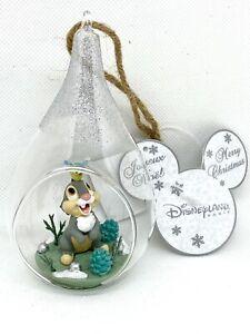 DISNEY Ornament KLOPFER Hase Kugel Figur Dekoration Weihnachten Disneyland NEU