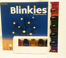 Blinkies Christmas Multi Color Light Set (4 Pack)