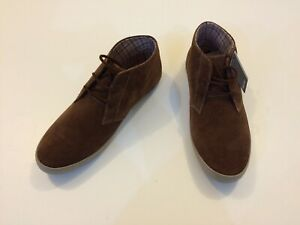 BRAND NEW Fred Perry Suede Chukka Boots - UK 7 / US 8