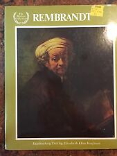 The Masters Collection Rembrandt Illustrated Book