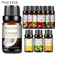 Fruit Essential Oils Aromatherapy 100% Pure Oil Organic Aroma Diffuser Burner