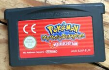 CARTOUCHE SEULE POKÉMON MYSTERY DUNGEON RED RESCUE TEAM GAMEBOY GBA PAL EURO JEU