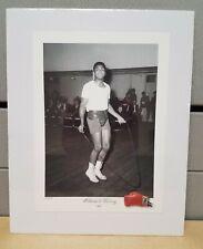 Legend Muhammad Ali Cassius Clay Boxing Training Print 1963 Image Gym