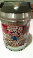 Discontinued Newcastle Brown Ale 5L Mini Keg Empty Bar Decor Collectable