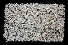 Huge Lot (2,470 G) of Vintage Mother of Pearl Buttons Small Size (0.9 - 1.4cm.)
