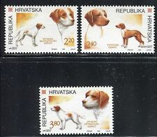 CROATIA 1995 HUNTING DOGS/ISTRIAN SHORT-HAIRED/WIRE-HAIRED/POSAVINIAN/ANIMAL/PET
