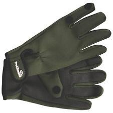 Mens Neoprene Gloves Outdoor Fishing Shooting Green Foldback  S/M L/XL