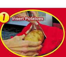 Kartoffeltasche Dampfgarer Kartoffel Bag Mikrowellenbeutel Mikrowelle Beutel