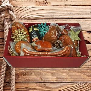 Ueckermünder Wurstkorb - Schlemmerpaket direkt vom Erzeuger - ca. 2,5kg Waren