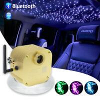 16W RGBW LED Fiber Optic Star Ceiling Kit Twinkle Lights Cable 400pcs 0.75mm *2m