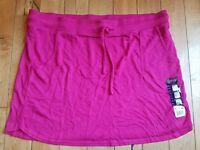 NWT Womens BALANCE COLLECTION Pink Green Gray Blue Knit Skirt Sz L XL XXL