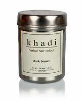 Khadi Natural Dark Brown Herbal Hair Colour 150gm choose bulk