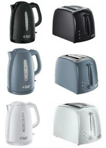 Russell Hobbs Textures 2 Slice Toaster & 1.7L Kettle Collection Set