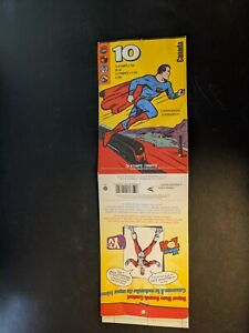 CANADA POST SUPERHEROES STAMP BOOKLET 10 SUPERMAN CAPTAIN CANUCK NELVANA