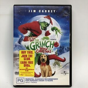 Dr.Suess - How the Grinch Stole Christmas - DVD - AusPost with Tracking