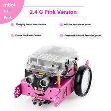 Makeblock DIY Mbot V1.1 Educational Robot Kit Building Kit (Pink 2.4G Version)