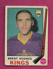 1969-70 OPC # 144 KINGS BRENT HUGHES ROOKIE  GOOD CARD  (INV#2236)