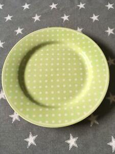 GreenGate Spot Green Dessertteller