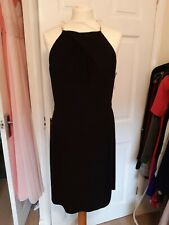 Black cut out dress by LAUNDRY  size 16  NEW WITH TAGS
