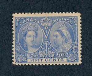 drbobstamps Canada Scott #60 Mint Lightly Hinged OG Sound Stamp