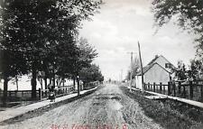 Rue St Francis Rigaud Quebec unused old pc Pinsonnault Good