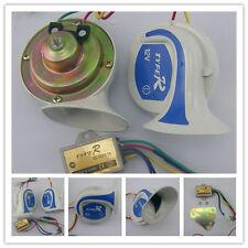 2 Pcs Loud 12V 8 Sound Tone Snail Electric Horn 110 dB [magic8_c] For Car Truck