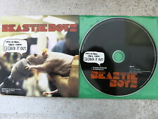 BEASTIE BOYS - Ch-Check It Out PROMO CD  &  Buch → A History of the Beastie Boys