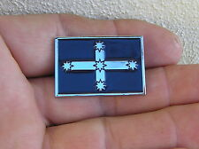 EUREKA FLAG VEST PIN Badge Blue *HIGH QUALITY Biker Fits HARLEY-DAVIDSON Lapel