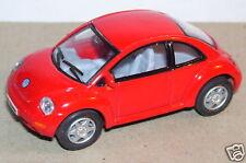 KINSMART VW VOLKSWAGEN NEW BEETLE ROUGE 1/64
