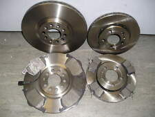 MK4 VW GOLF 2.3 V5 2.8 V6 4MOTION FRONT AND REAR COATED BRAKE DISCS & PADS