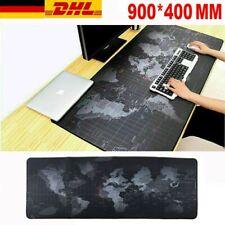900x400mm Gaming Mauspad XXL Anti-Rutsch Mousepad Schreibtisch Matte Speed Mat