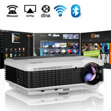 WiFi Projector 1080P HD Smart Android Blue-tooth Home Theatre Proyector Airplay