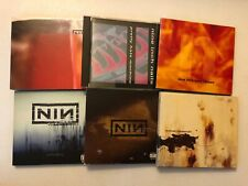 NIN CD LOT OF 6! DOWNWARD,WITH TEETH,PRETTY,FRAGILE,BROKEN,AND ALL THAT!