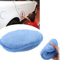 Car Polish Foam Sponge Applicator Cleaning Microfiber Waxing Pads Detailing
