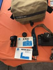 Minolta X-700 35mm SLR 50mm F1.7, Film Tested