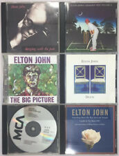 Elton John 6 Cds Sleeping with the Past Greatest Hits Volume 2 Big Picture Duets