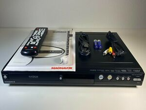 Magnavox MDR557H/F7 1TB Hard Drive/DVD HDD Recorder with Remote/Cables - Tested