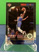 2019-20 NBA Hoops Premium Stock RJ Barrett Knicks RC