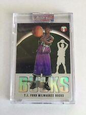 Topps 2003 TJ Ford Milwaukee Bucks Uncirculated Basketball Card 481/1999
