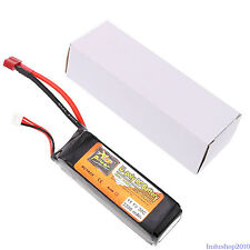 ZOP Power 2200mAh 30C 11.1V T Plug Lipo Li Battery For RC Car Quad Drone /Truck