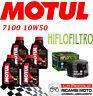 BMW R GS 1200 2013 2018 KIT TAGLIANDO 4 LT MOTUL 7100 10W50 + FILTRO OLIO