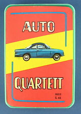 Auto-Quartett - S&S - Nr. 8653 S. 82 - von 1966 - Kartenspiel - Quartettspiel