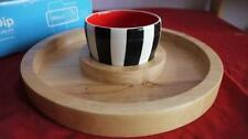Ceramic Geometric Serving Dishes