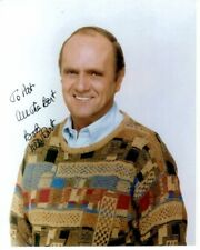 BOB NEWHART Autographed Signed Photograph - To Pat