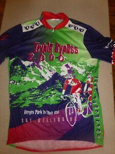 Pearl Izumi Triple Bypass Cycling Jersey Shirt XXL 2XL