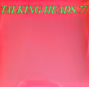 "TALKING HEADS 77 - 180 GRAM VINYL LP "" NEW, SEALED """