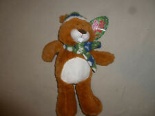 NEW W TAG BEAVER CHRISTMAS TREE SCARF HAT PLUSH SUGAR LOAF TOYS NWT TOY WINTER