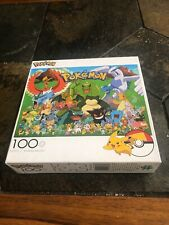 Brand New Pokemon 100 Piece Jigsaw Puzzle-Nintendo- Buffalo Games 04800