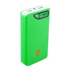 Gorillainc. Alive Power Bank 15.000mah móviles cargador de batería smartphone verde